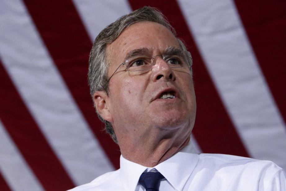 Jeb Bush estcandidat aux primaires républicaines pour la... (Photo Gene J. Puskar, AP)