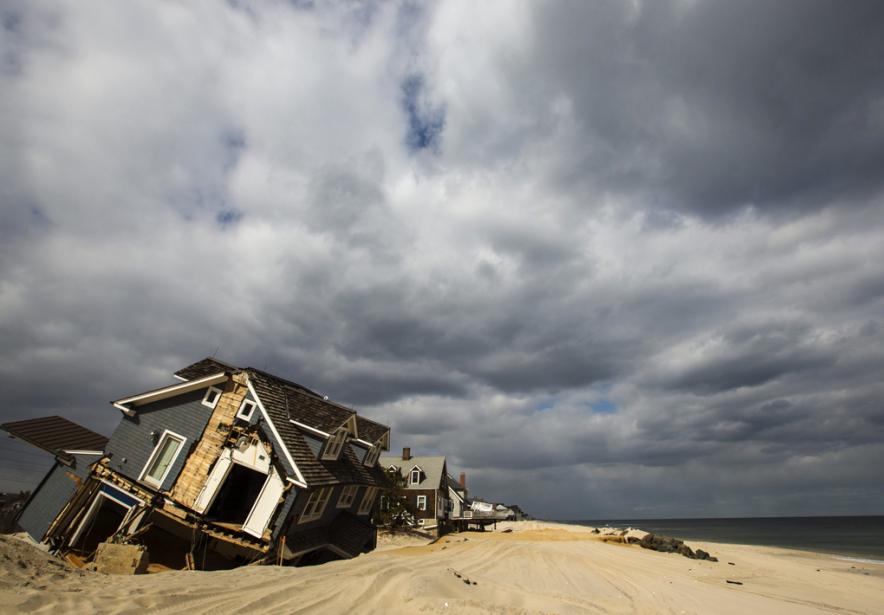 Le niveau de l'eau a augmenté de 30... (PHOTO LUCAS JACKSON, ARCHIVES REUTERS)