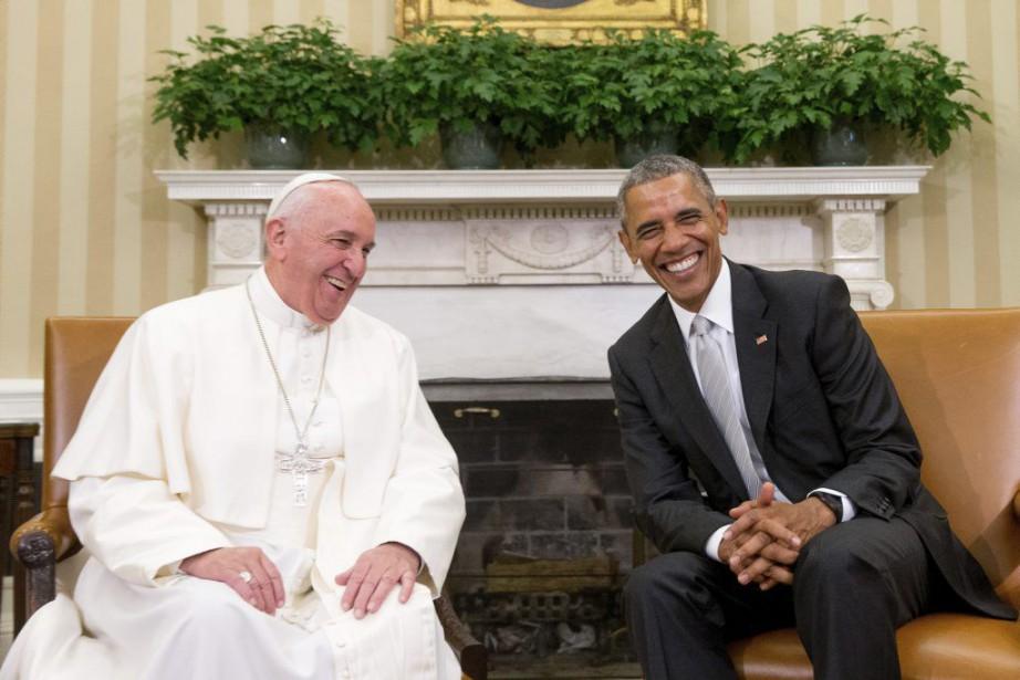 «Le pape François, je l'adore», a lancé le... (Photo Andrew Harnik, AP)