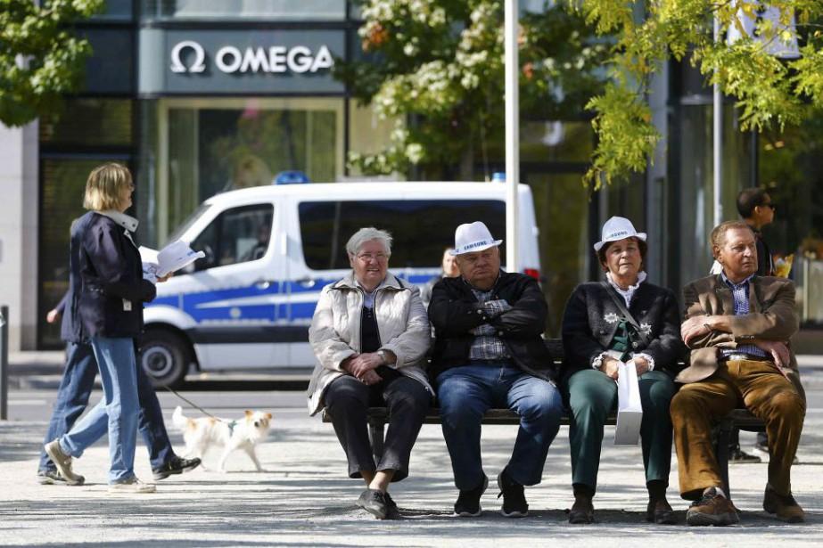 En Allemagne même, aux côtés d'extraordinaires manifestations de... (Photo Kai Pfaffenbach, Reuters)