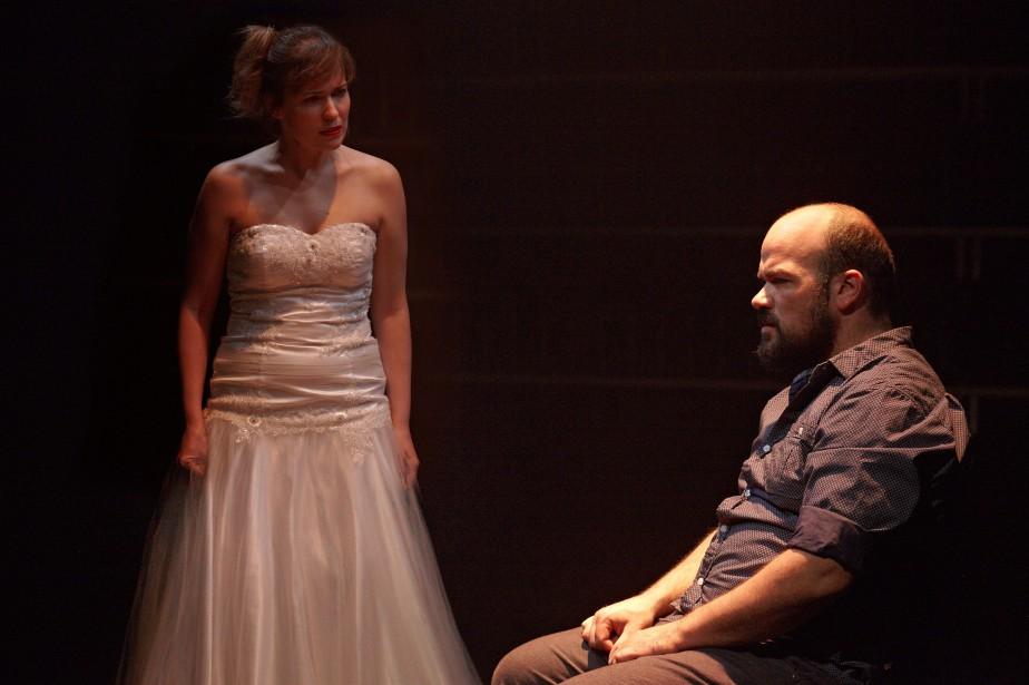 Rose-Maïté Erkoreka et Mathieu Gosselin dans la pièceVoiture... (Photo Marie-Claude Hamel, fournie par La Licorne)