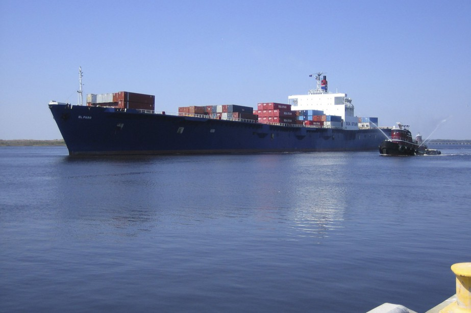 Le navire-cargoEl Faro.... (Photo Reuters/Tote Maritime)