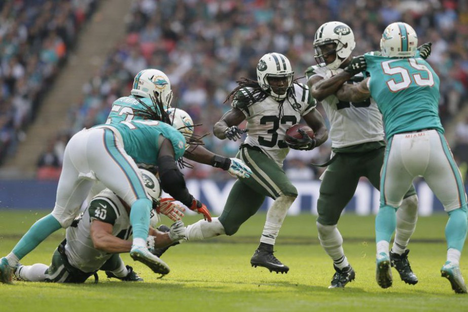 Chris Ivory a brillé dans ce 12e match de... (Photo Tim Ireland, AP)