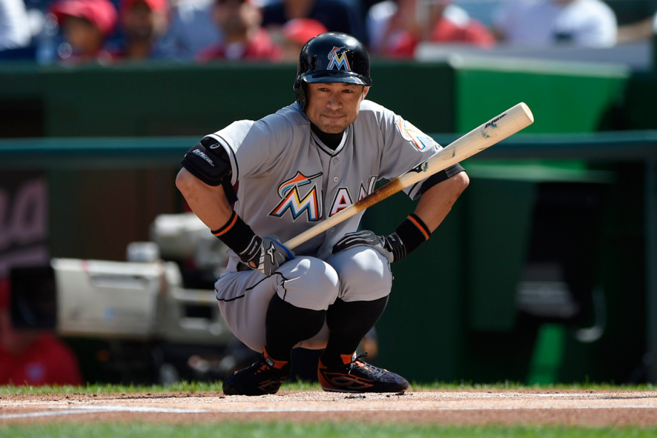 Ichiro Suzuki est à 65 coups sûrs d'atteindre... (Photo Nick Wass, AP)