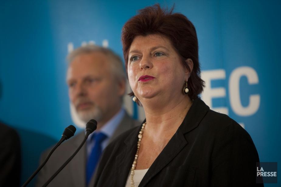 Nicole Léger... (Photo André Pichette, archives La Presse)