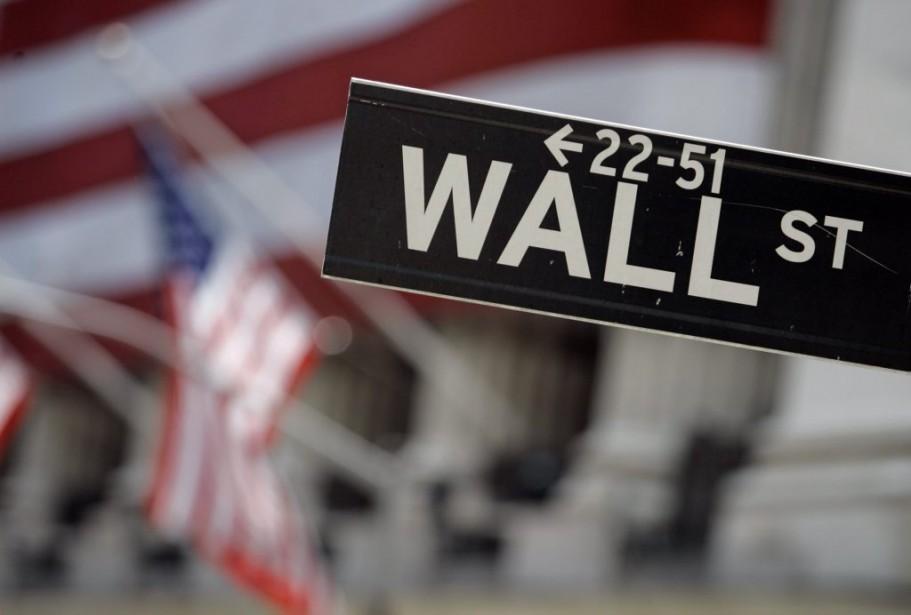Le Dow Jones a pris à peine 0,08%,... (PHOTO RICHARD DREW, ARCHIVES ASSOCIATED PRESS)