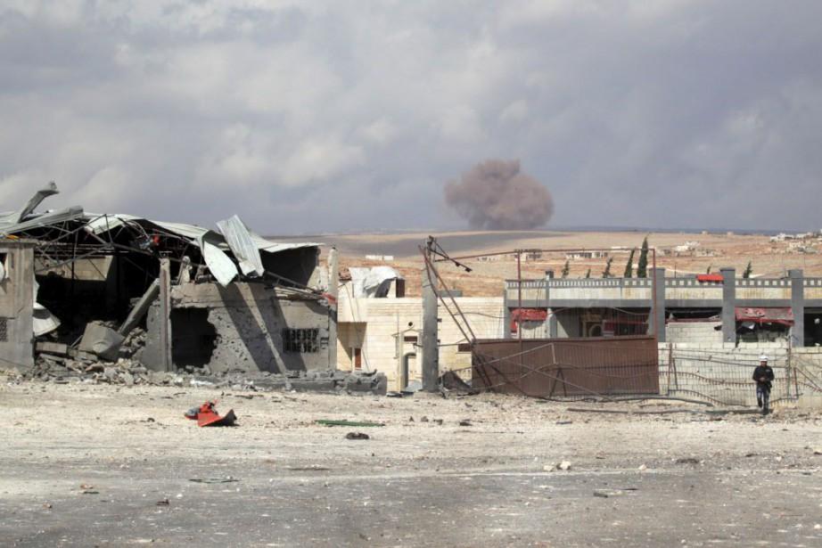 La Turquie a dénoncé deux violations de son... (Photo Khalil Ashawi, Reuters)