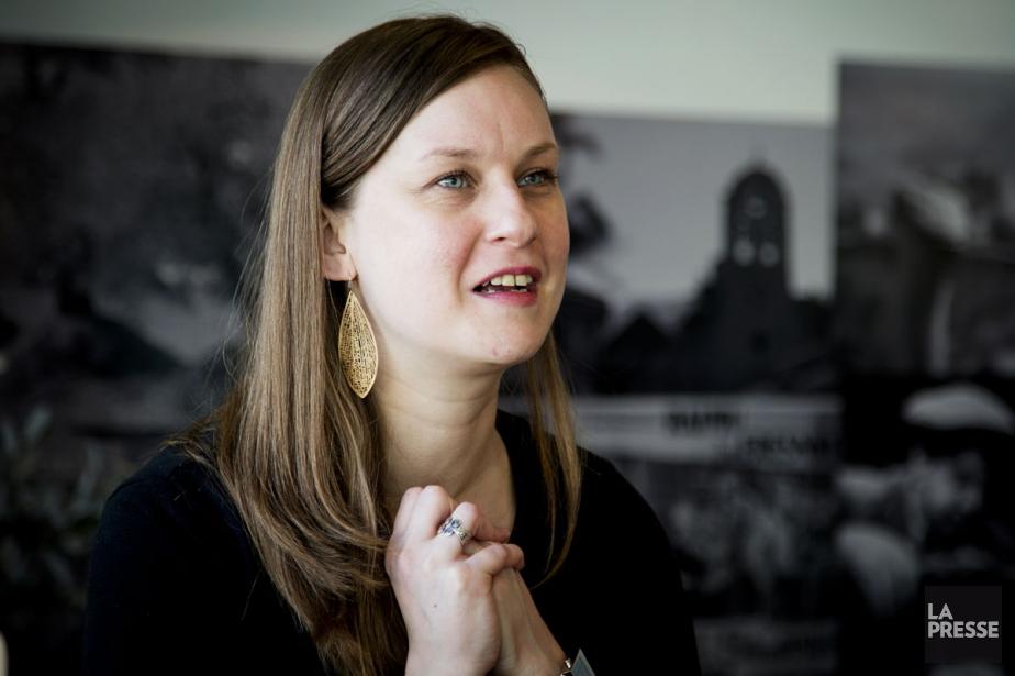 L'auteure Catherine Harton est en nomination pour son... (PHOTO ALAIN ROBERGE, ARCHIVES LA PRESSE)