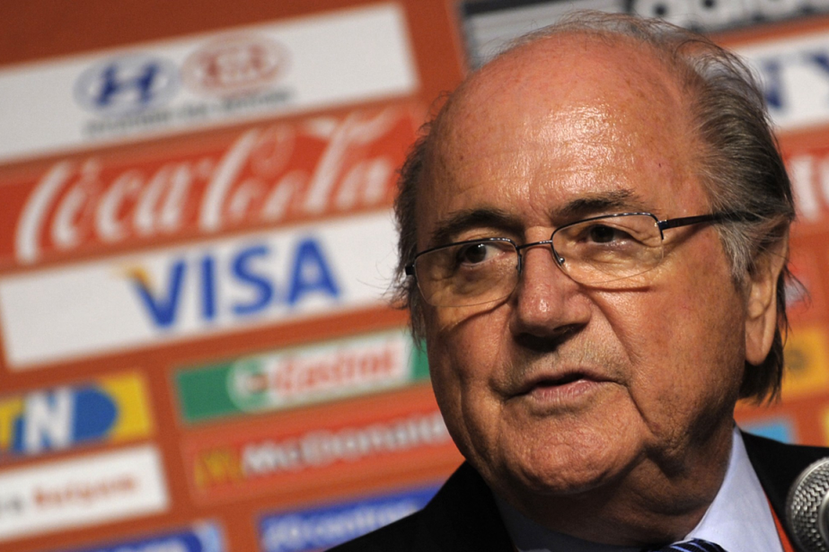 Sepp Blatter.... (PHOTO GIANLUIGI GUERCIA, ARCHIVES AFP)