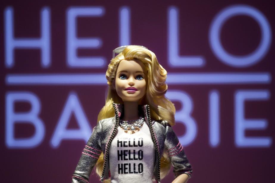 Dévoilée en mars dernier, HelloBarbie doit utiliser un... (PHOTO ARCHIVES AP)
