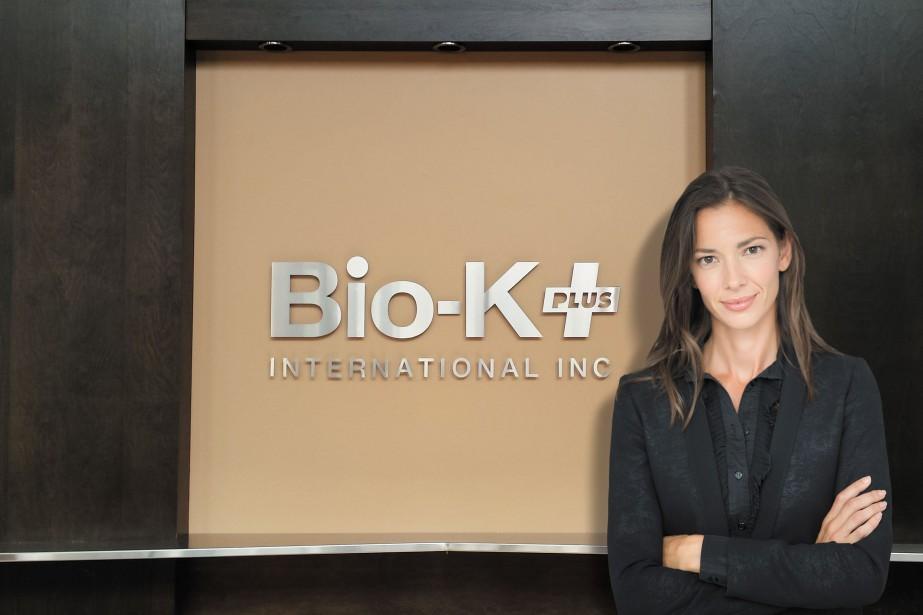 Isabèle Chevalier est devenue coprésidente de Bio-K Plus... (PHOTO FOURNIE PAR BIO-K PLUS INTERNATIONAL)