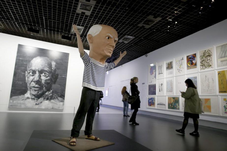 Picasso était un génie de la peinture mais aussi un mythe: à... (PHOTO AFP)