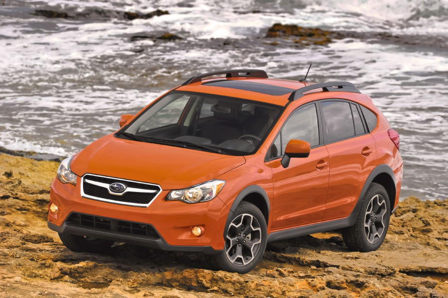 La Subaru XV Crosstrek... (Photo fournie par Subaru)