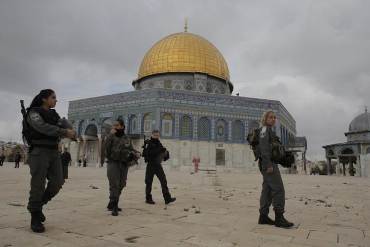 Le nombre de juifs montant sur l'esplanade des... (ARCHIVES REUTERS)