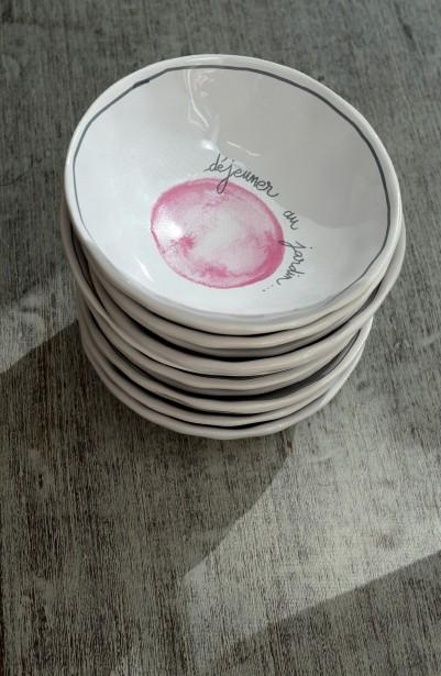 Petits bols de la compagnie française Jardin d'Ulysse, 8 $ chacun (Le Soleil, Erick Labbé)