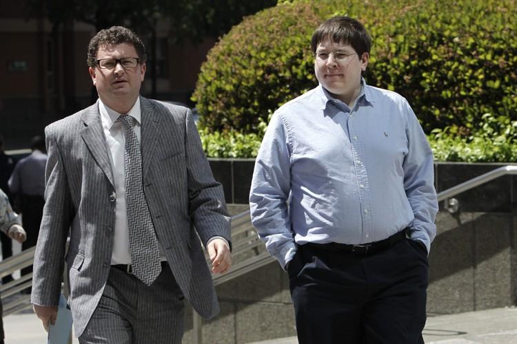 Matthew Keys (à droite) accuse le département de... (ARCHIVES AP)