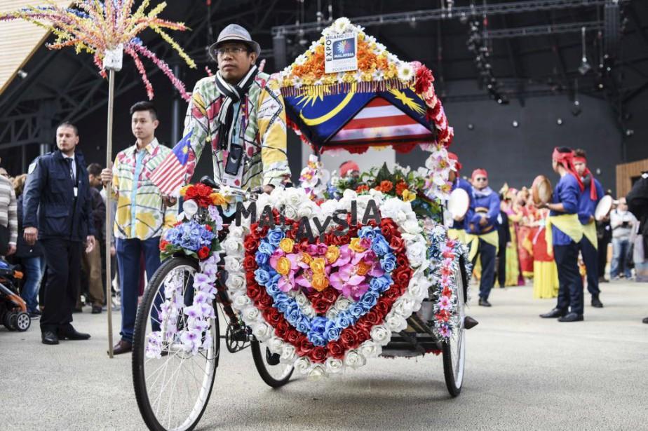 L'Exposition universelle, qui se tient depuis le 1er... (Photo Reuters)