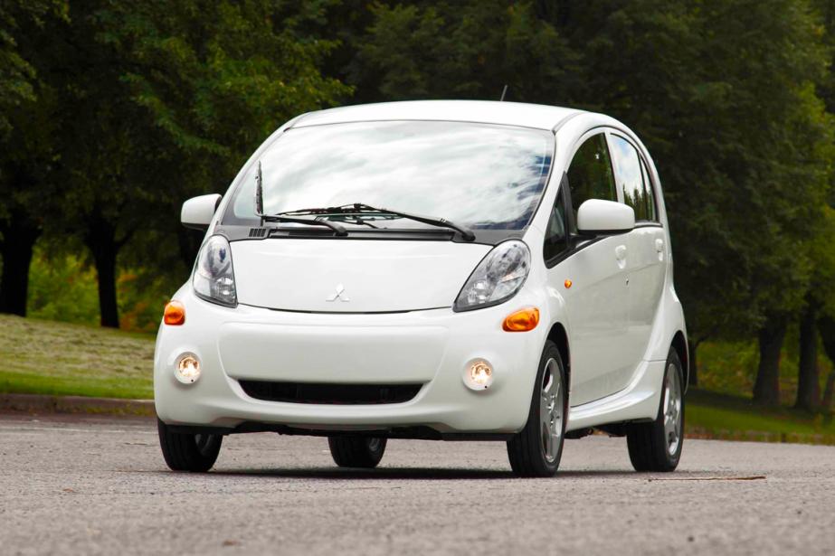 La Mitsubishi i-Miev (Photo Éric LeFrançois, collaboration spéciale)