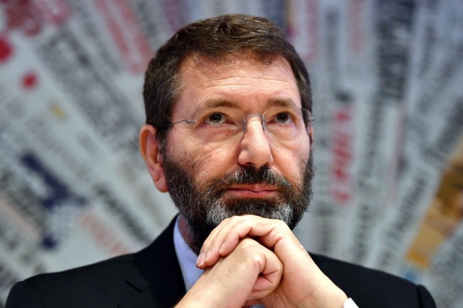 La maire démissionnaire de Rome, Ignazio Marino.... (PHOTO GABRIEL BOUYS, ARCHIVES AFP)