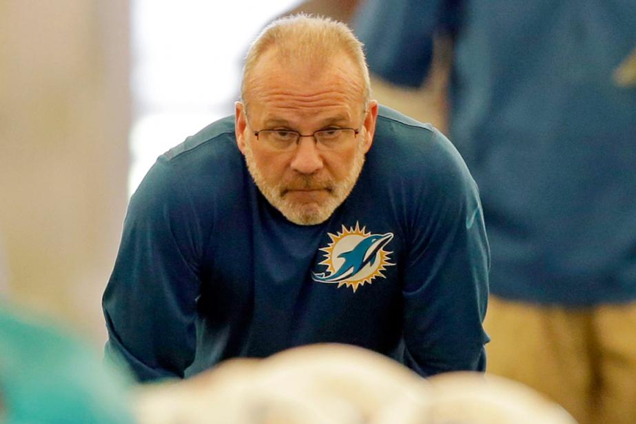 Le coordonnateur défensif des Dolphins de Miami, Kevin... (Photo Alan Diaz, AP)