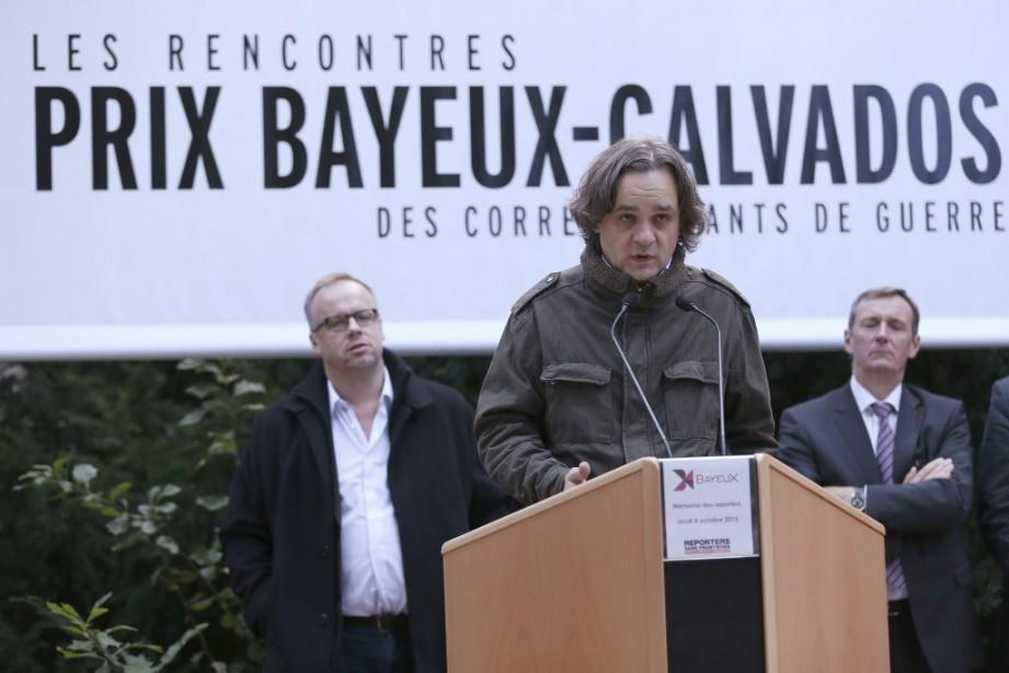 Le prix Bayeux des correspondants de guerre a... (PHOTO AFP)