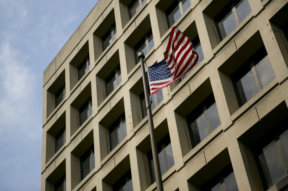 Le siège du FBI, à Washington... (Photo Andrew Harrer, Bloomberg)