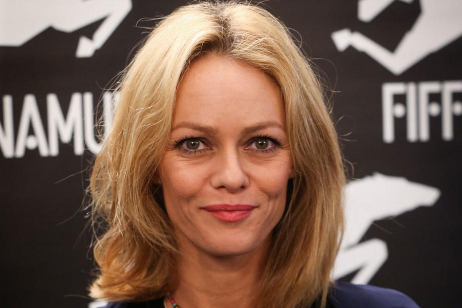 Vanessa Paradis a présenté trois films offerts aux... (PHOTO AFP)