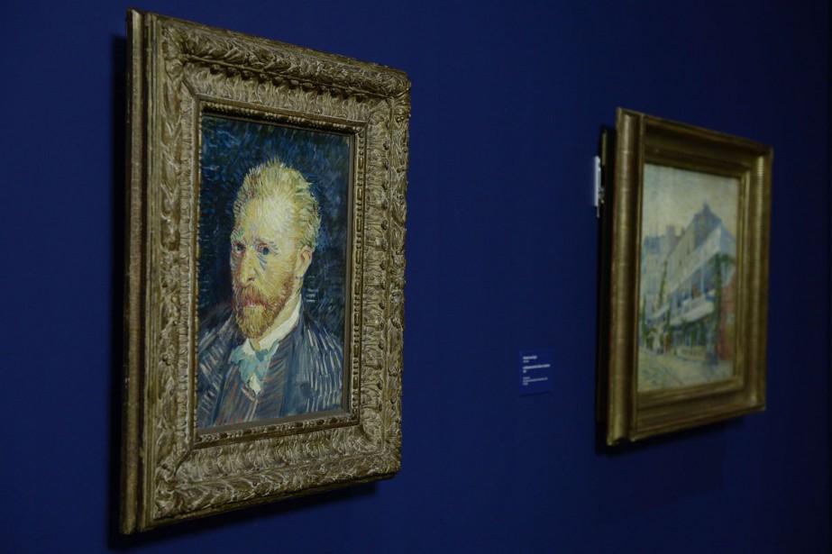 Portrait de l'artiste de Van Gogh.... (PHOTO AFP)