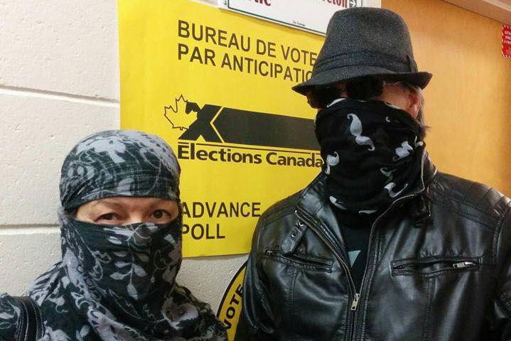 Élections Canada permet aux électeurs d'exercer leur droit... (Photo tirée de Facebook)
