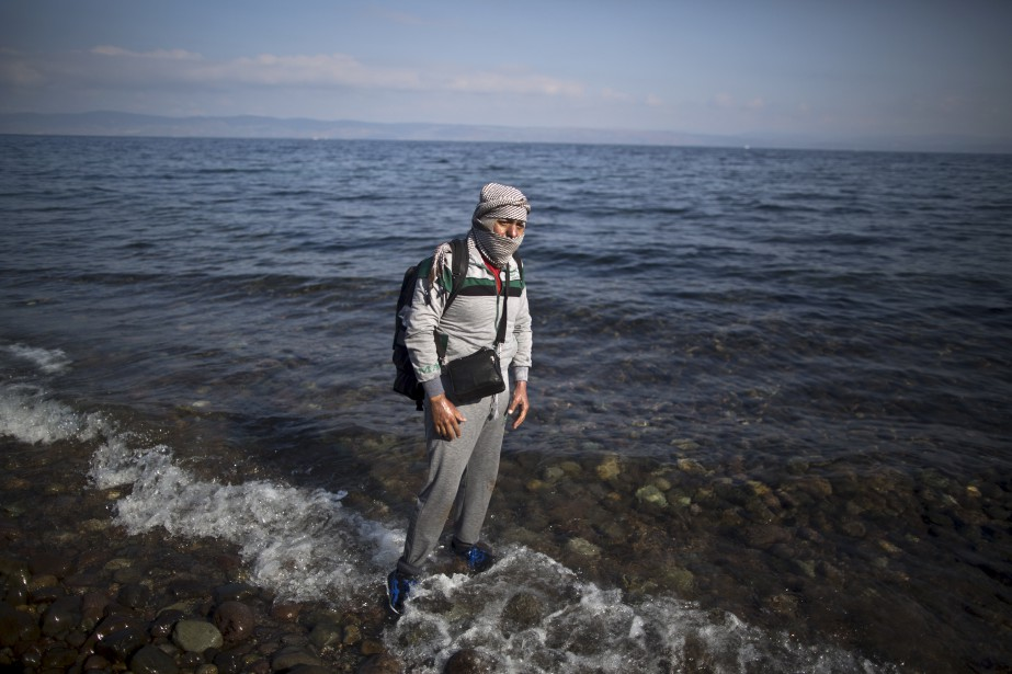 En Allemagne, il peuvent guérir les brûlures que m'a causé un bombardement aérien en 2013, qui couvrent tout le haut de mon corps. (AP, Muhammed Muheisen)
