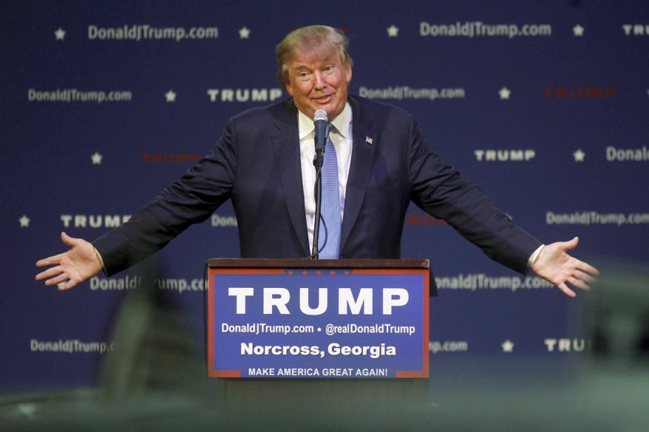 Des représentants de M. Trump n'ont pas voulu... (Photo Reuters)