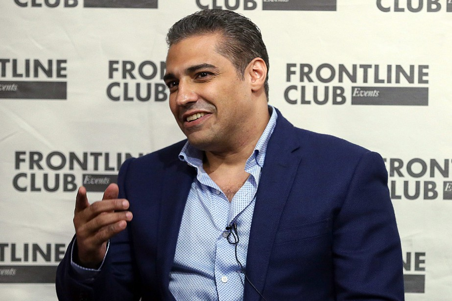 Mohamed Fahmy, photographié le 7 octobre dernier, alors... (Photo Tim Ireland, AP)