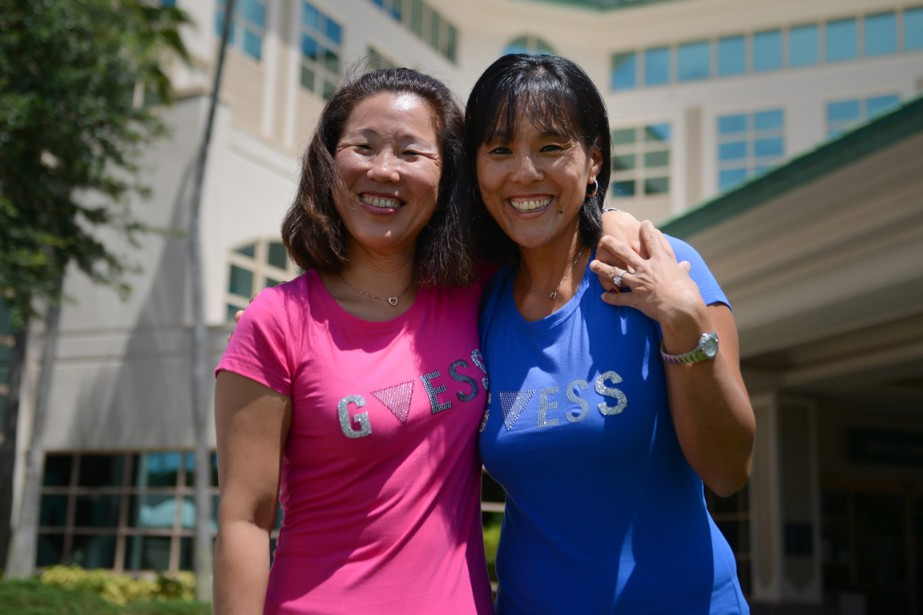 La première, Holly Hoyle O'Brien, née Pok-nam Shin,... (Photo AP)