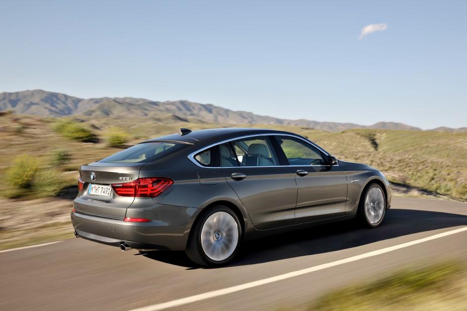 BMW Série 5 GT (Photo fournie par BMW)