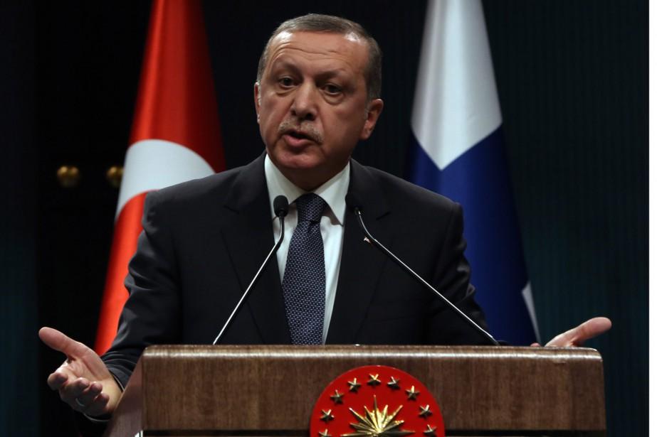 Le président turc, Recep Tayyip Erdogan... (Photo Burhan Ozbilici, AP)