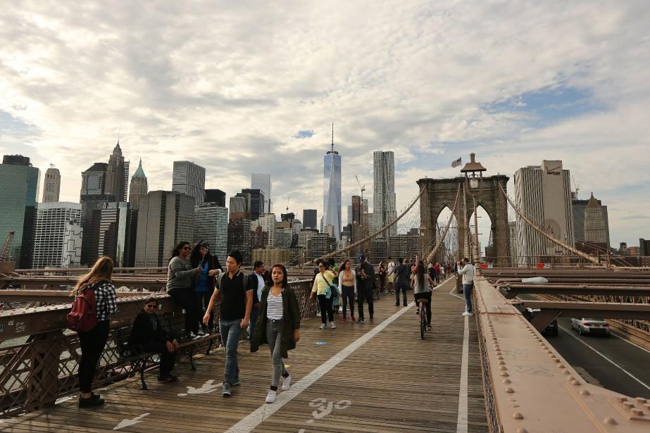 Cinq New-Yorkais qui ont leur ville... (Photo Martin Chamberland, La Presse)