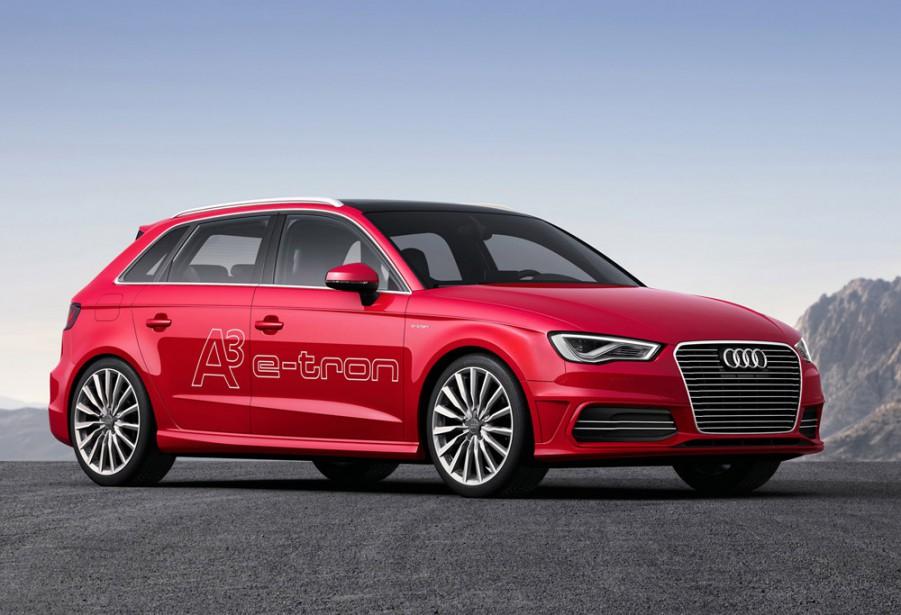 <strong>Audi A3 Sportback e-tron — Prix non dévoilé</strong> Le constructeur allemand compte lancer sur le marché nord-américain son modèle à hayon en version hybride rechargeable avec un moteur turbo de 1,4 litre. (Photo fournie par Audi)