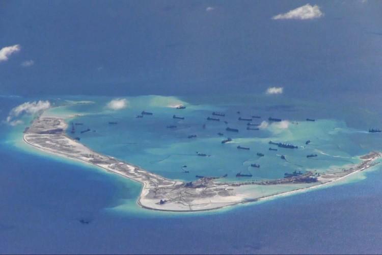 L'archipel des Spratleys comprend une centaine d'îlots et... (PHOTO REUTERS)