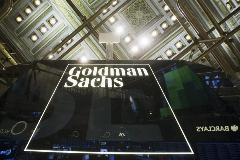 Le titre de Goldman Sachs reculait de près... (Photo Lucas Jackson, Reuters)