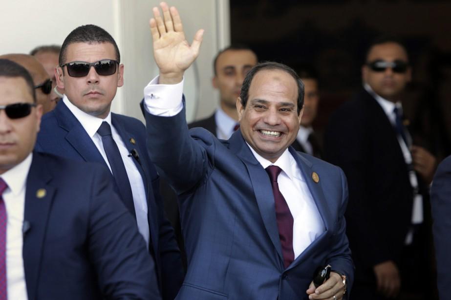 Abdel Fattah al-Sissi a étéélu président après avoir... (PHOTO AMR NABIL, ARCHIVES AP)