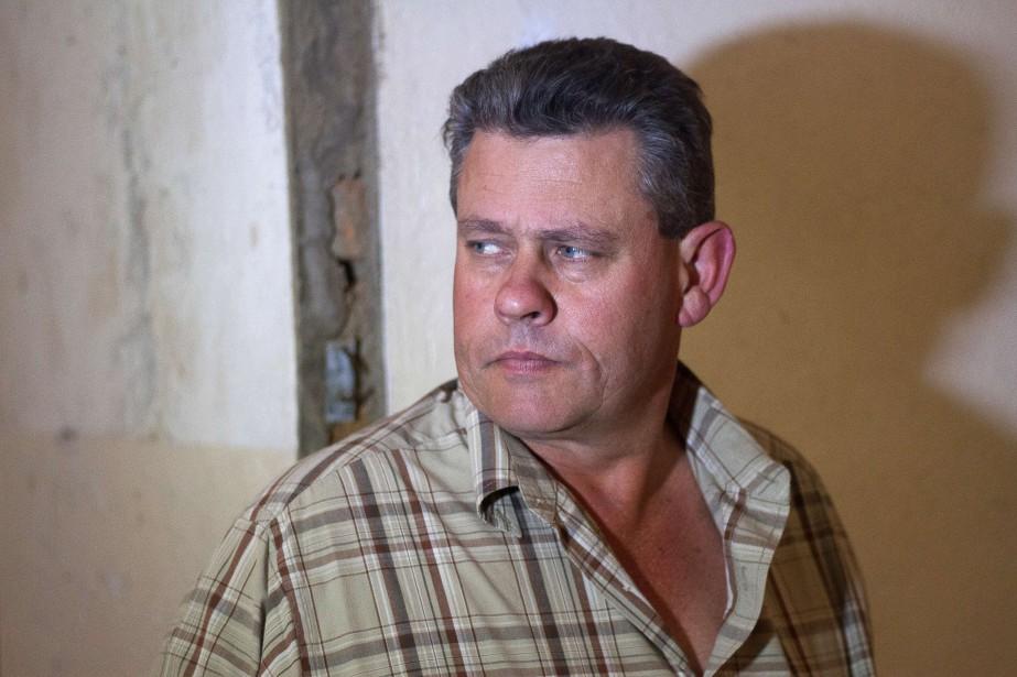 Theo Bronkhorst, le chasseur professionnel de 52 ans,... (PHOTO ARCHIVES AFP)