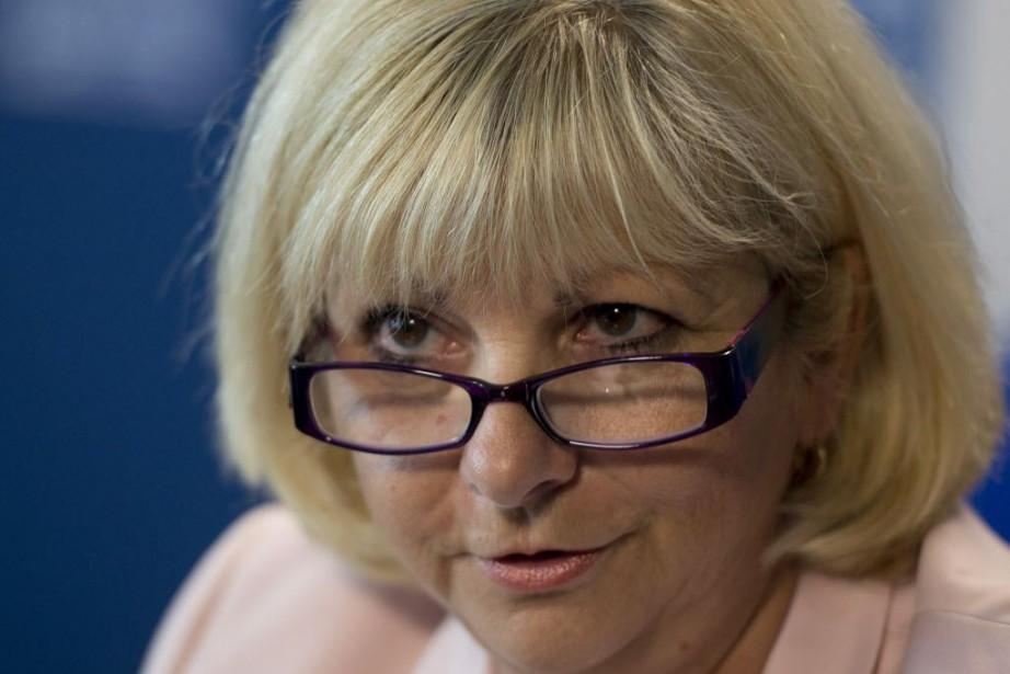 La présidente de la Fédération des commissions scolaires... (PHOTO JACQUES BOISSINOT, ARCHIVES LA PRESSE CANADIENNE)