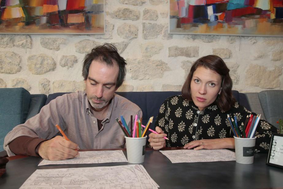 Alela Diane en compagnie de Ryan Francesconi à... (PHOTO AFP)