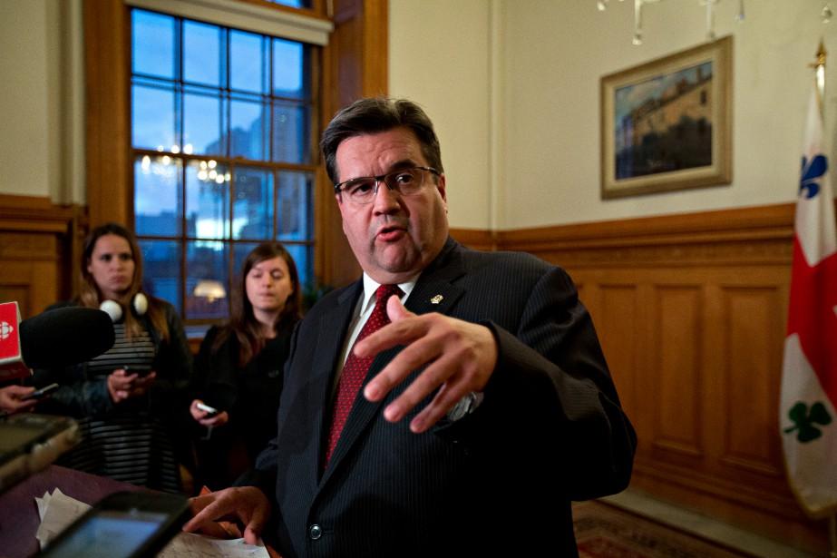 Le maire de Montréal Denis Coderre a qualifié... (PHOTO OLIVIER JEAN, LA PRESSE)