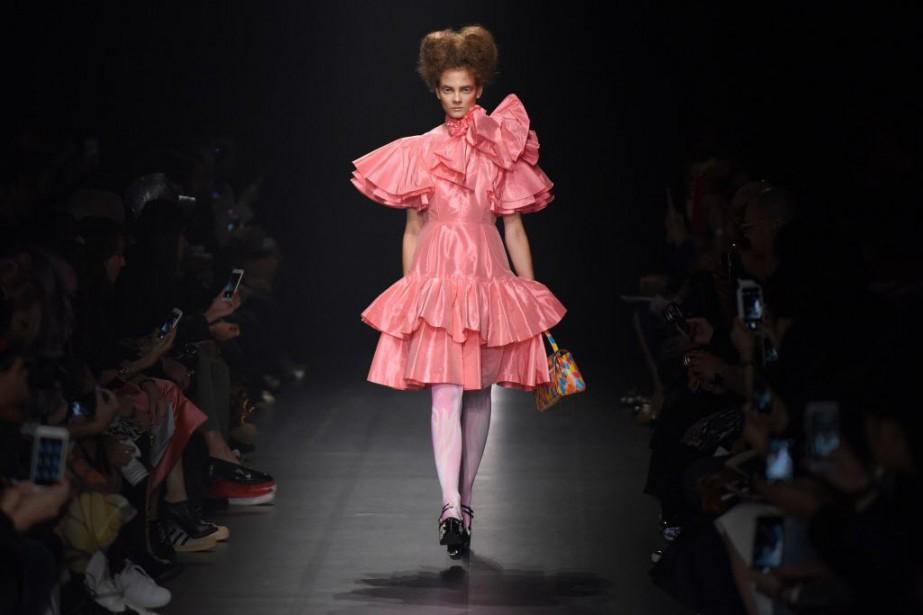 Selon la rédactrice de mode Tiffany Godoy, la... (PHOTO Toru YAMANAKA, AFP)