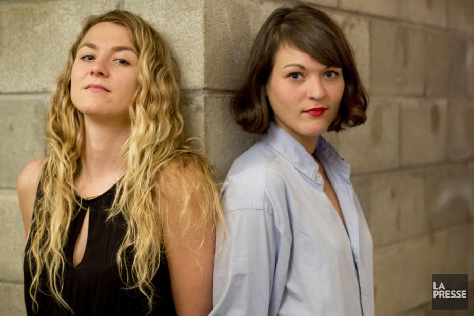 Stéphanie et Mélanie Boulay... (PHOTO DAVID BOILY, LA PRESSE)