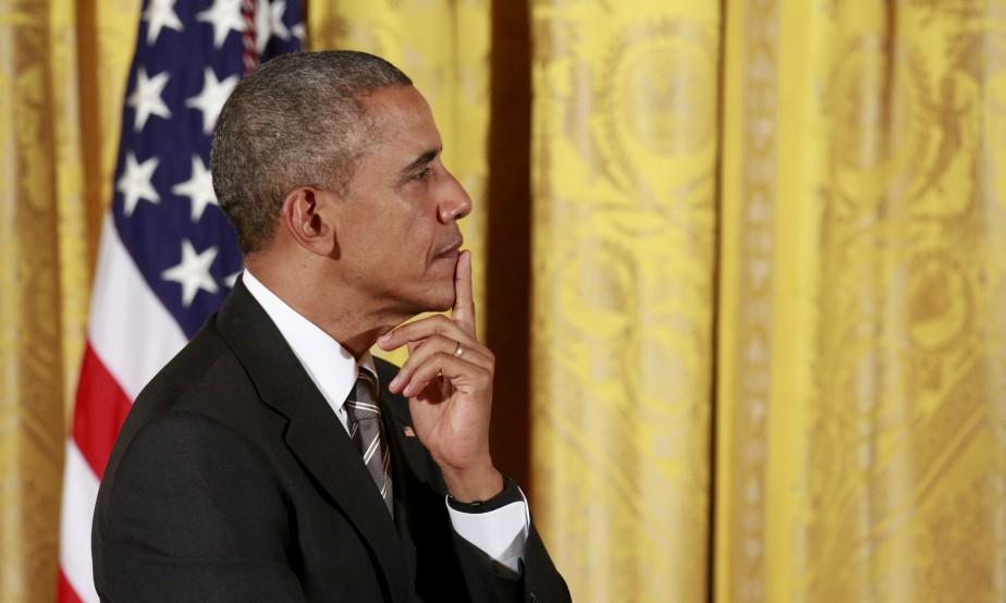 «Barack Obama est arrivé au pouvoir en janvier... (PHOTO KEVIN LAMARQUE, REUTERS)
