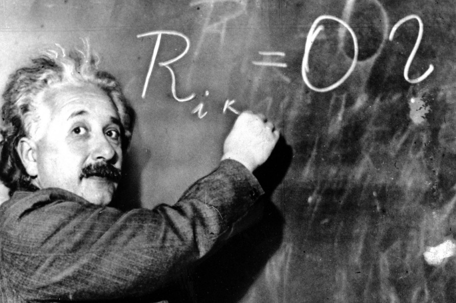 Albert Einstein en 1931... (PHOTO ARCHIVES ASSOCIATED PRESS)