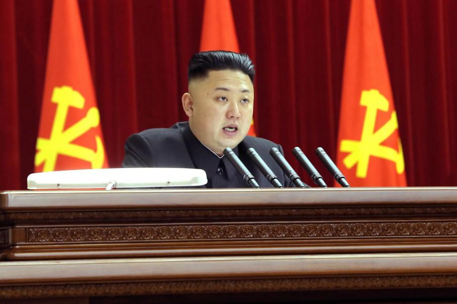 Le leader nord-coréen,Kim Jong-Un... (PHOTO d'archives AFP/KCNA)