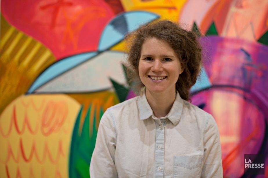 Dana Schutz... (PHOTO OLIVIER JEAN, LA PRESSE)